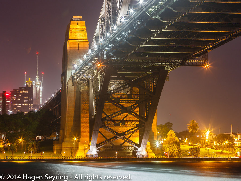 Pylon of the Sydney Harbour Bridge