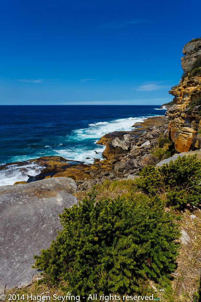 Manly scenic walk way - Cliff coast on Manly