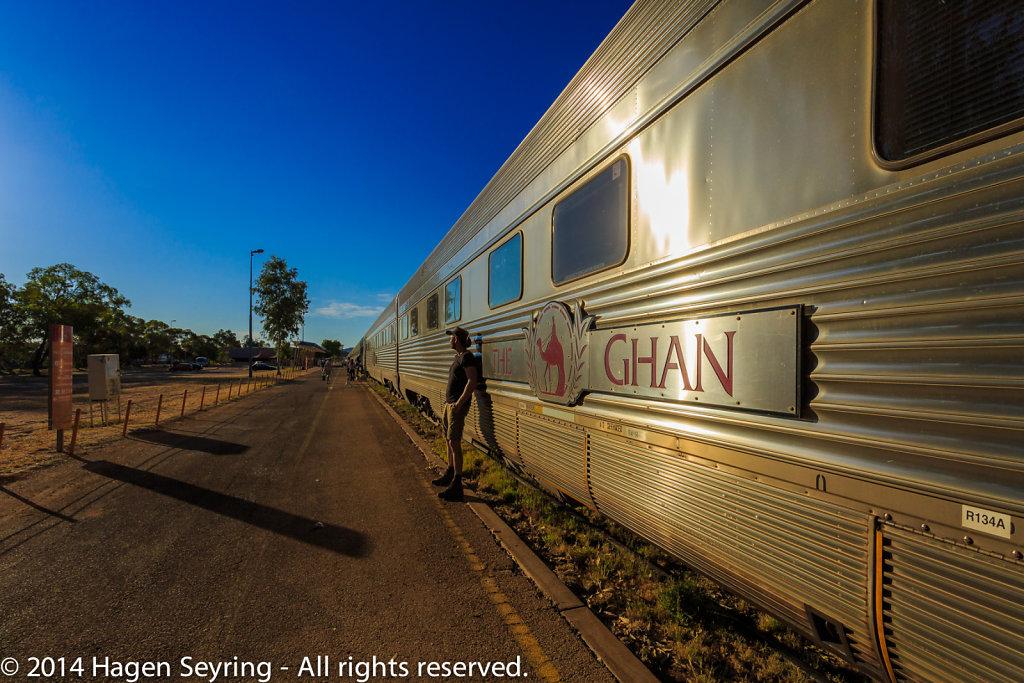 Wating for departure to Darwin