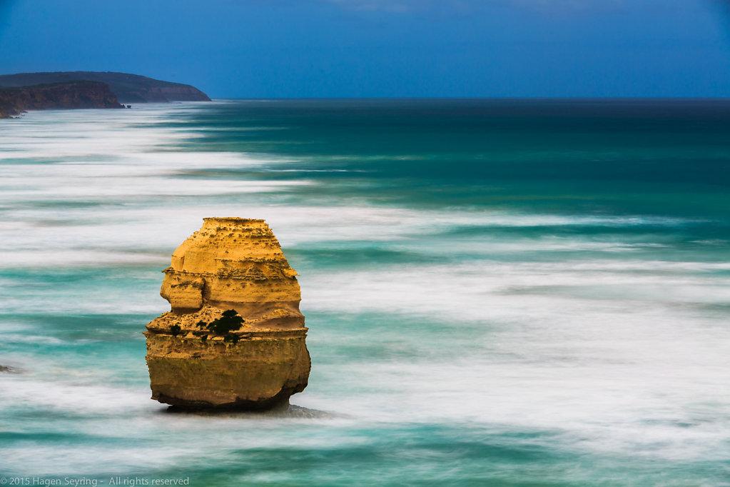 Rock needle on the southern coast of Australia