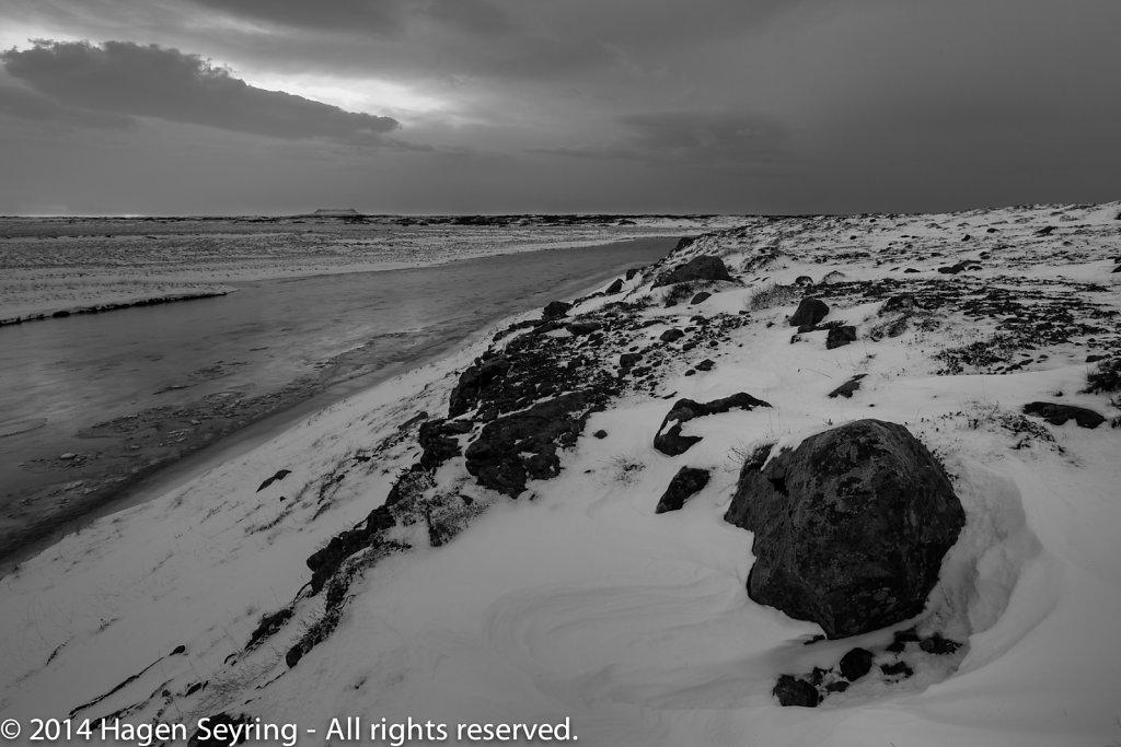 Sunrise on West Iceland