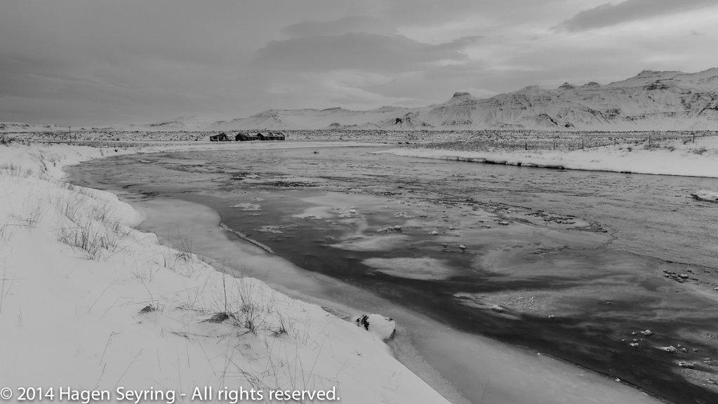 Landscape in West Iceland