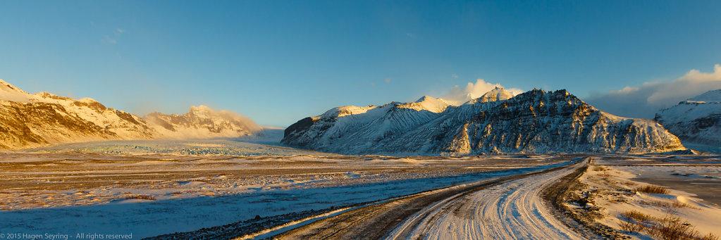 Glacier by Skaftafell