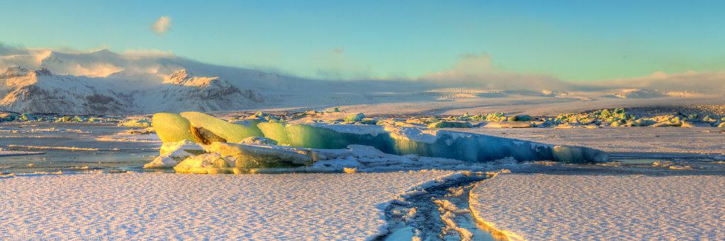 Jökulsárlón-Glacier lagoon, Iceland