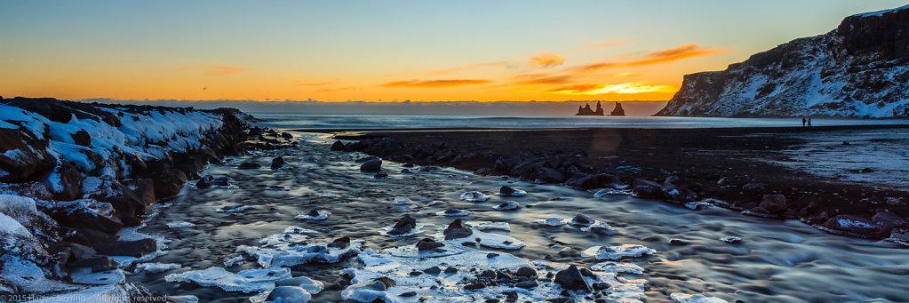 "The ""Black Beach"" of Vik, Iceland"