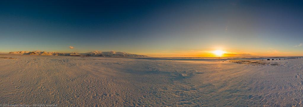 Panorama  close to Skaftafell