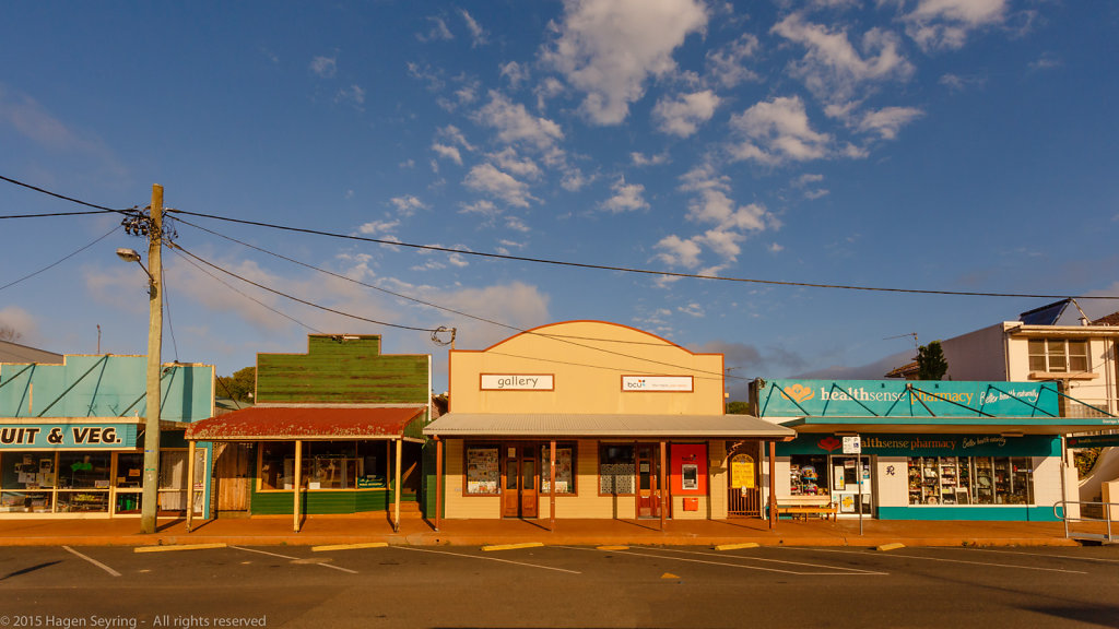 Main street of Dorrigo