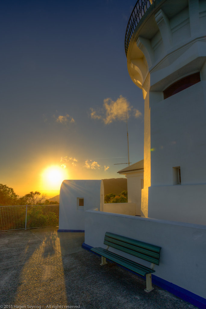Late afternoon on the Smoky Cape Lighthouse