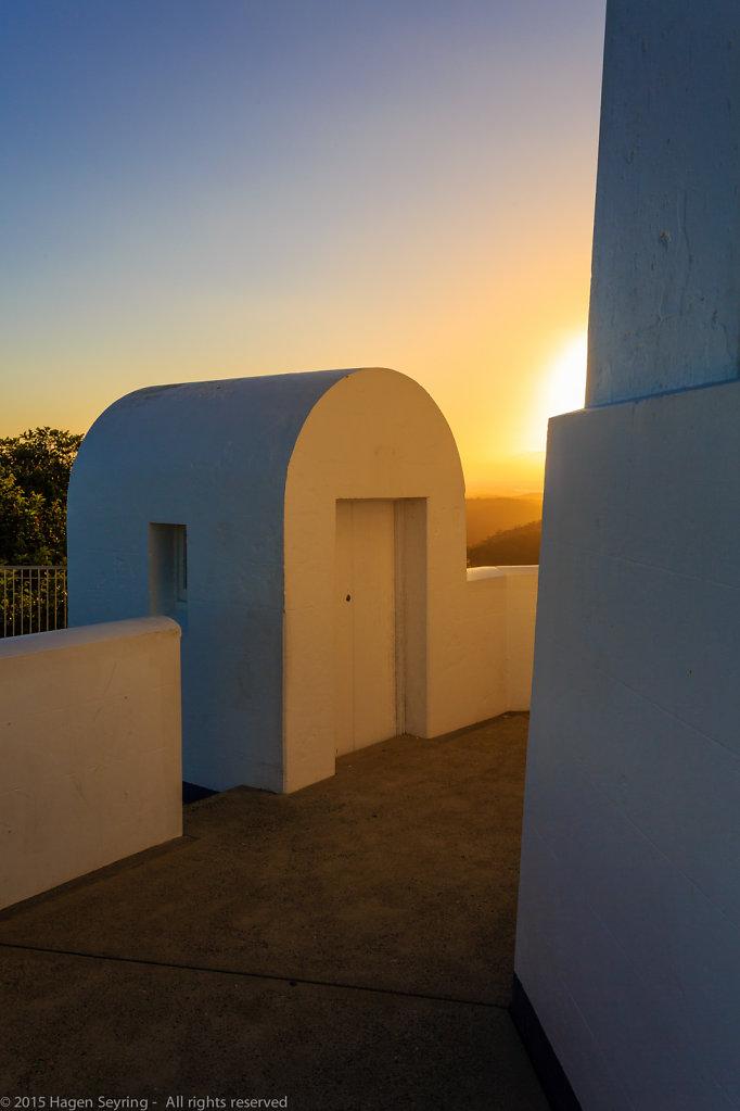 Sunset on the Smoky Cape Lighthouse