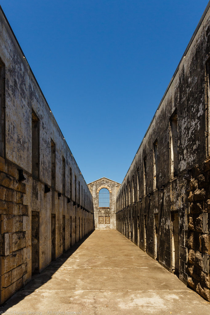 Prison cells of Trial Bay Goal,