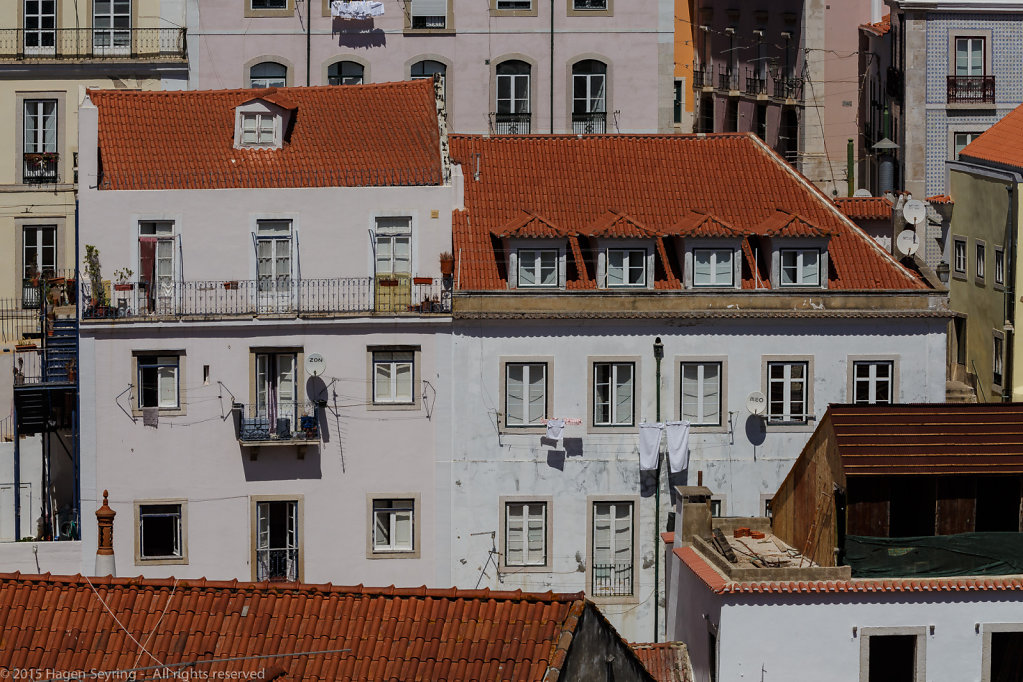 House the historic district of Lisbon the Alfama