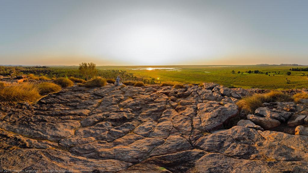 Dreaming at Ubirr Rocks, NT, Australia